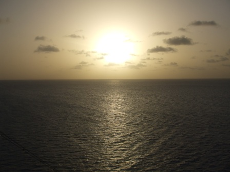 Sailing West from Antigua